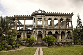Image of The Ruins. ruins philippines visayas negros lacson the talisay