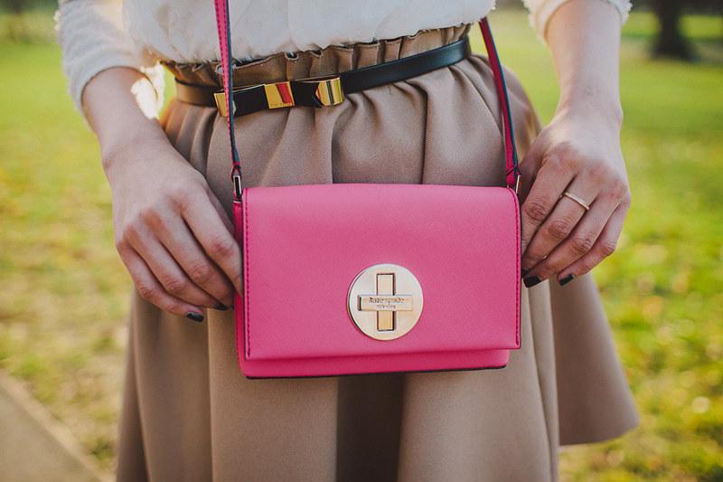 {pleats & pink} via chevrons & éclairs