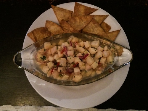Santa Elena: ceviche de poisson