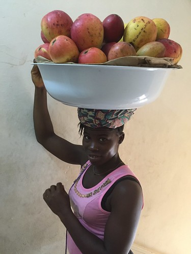 africa food girl fruit milk market business sierraleone mango trade freetown