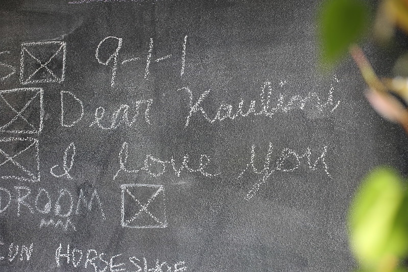 C's sweet note to K