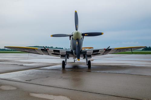 show air lf spitfire supermarine 2016 mkix pouť aviatická
