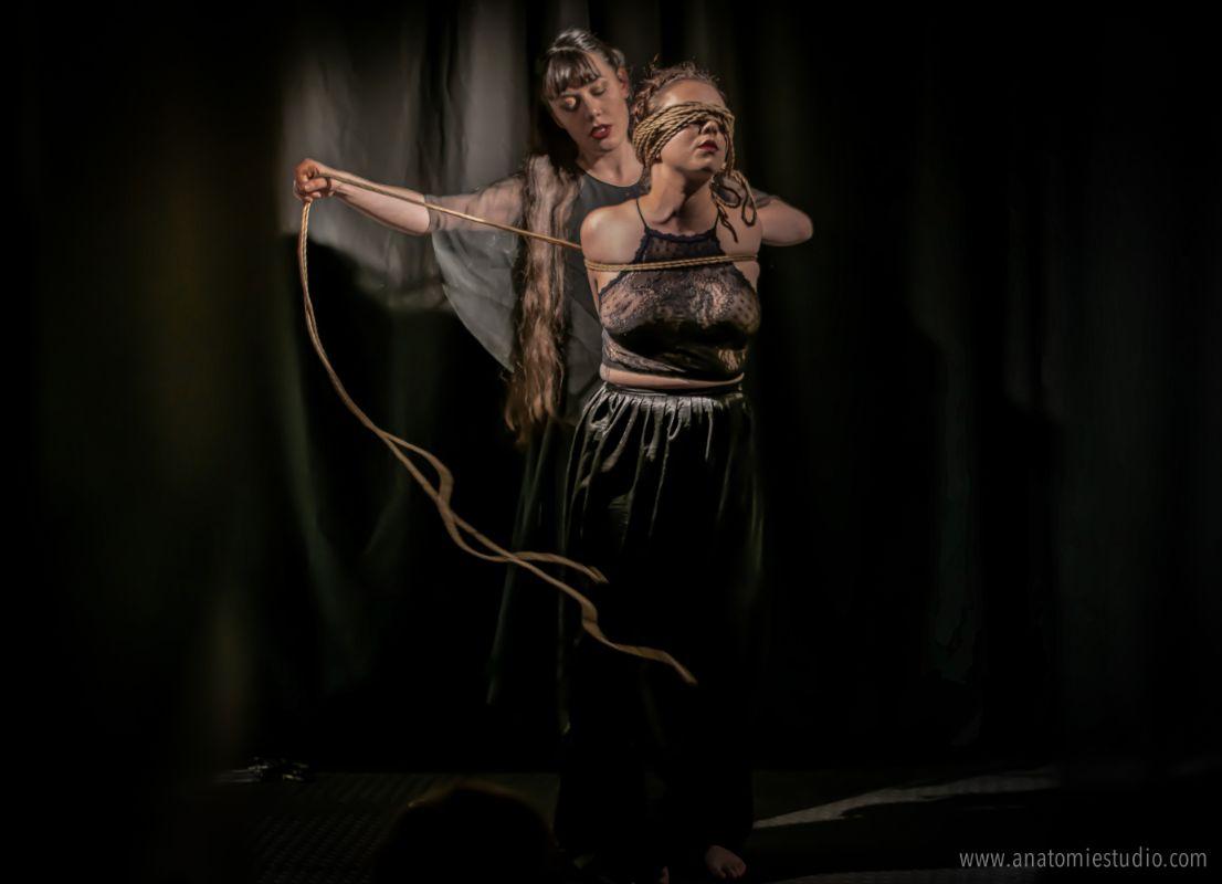 Rope by Gestalta, Model Sophia, Shibari Performance at The Soap Box, London