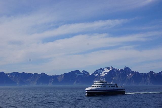 The other Bodø-Moskenes ferry