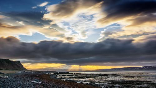 longexposure sunset sea mountains beach water clouds coast iceland widescreen pinkfloyd le fjord oru 169 westfjords 2016