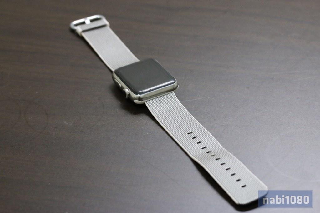 Apple Watch ウーブンナイロンバンド17