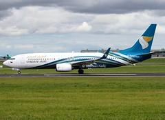 Oman Air                           Boeing 737-800                                    A40-BAA