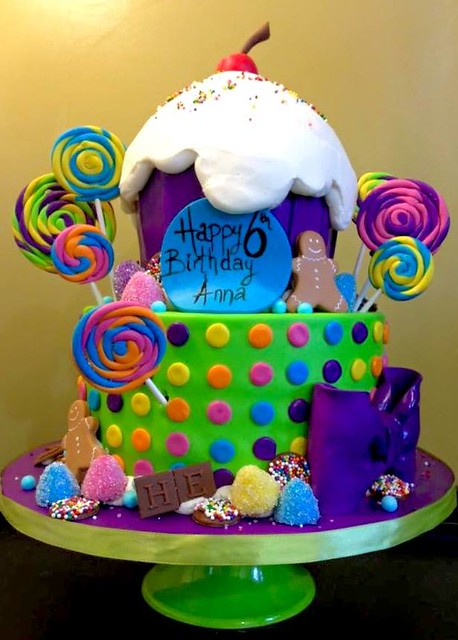 Adventures in Candy Land by Happy Belly Cakery
