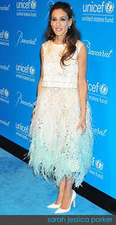 Sarah Jessica Parker White Pumps Celebrity Style Women's Fashion