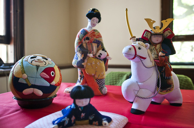 The Mataro Ningyo Doll Museum by the Kimekomi Doll Club. Photo by Mike Ratliff.
