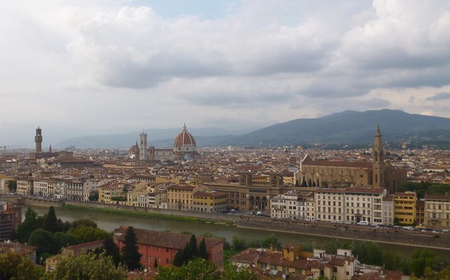 View of Florence from Plaza Michaelangelo