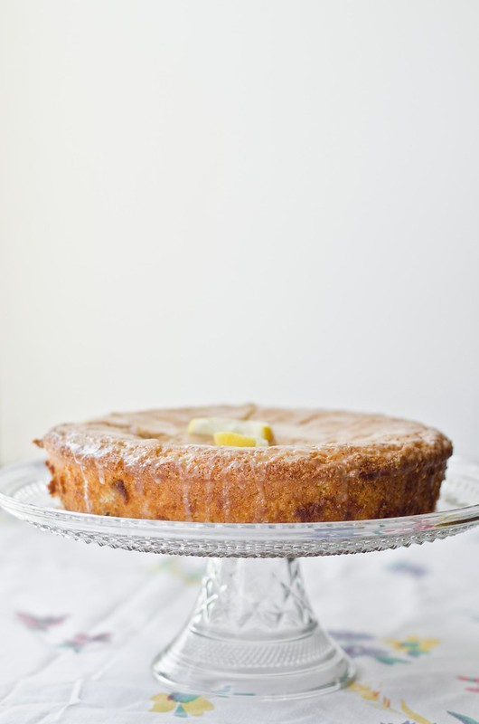 French Yogurt Cake (side)