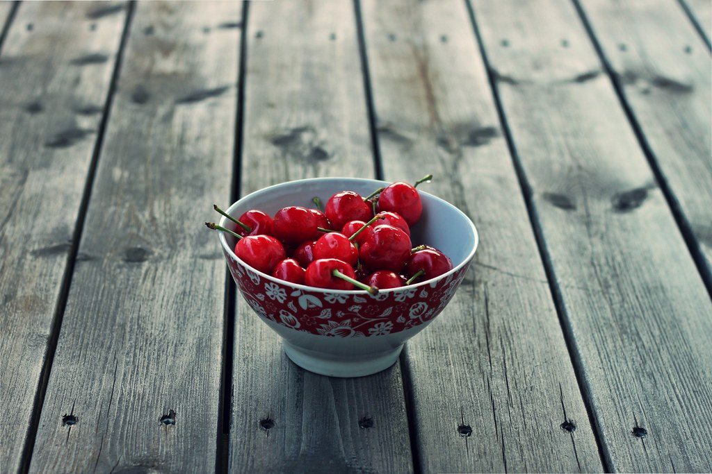 """""""Life is a bowl of cherries""""."""