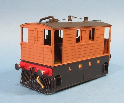 Clean Tram loco