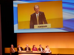 Blair Jenkins speaking at SNP conference in Inverness, March 2013