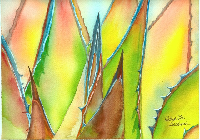 Agave watercolor DLB