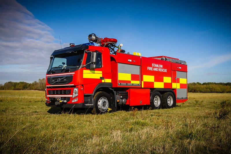 Carmichael Fire & Rescue vehicle