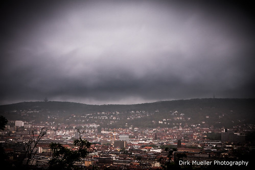 Really bad weather over Stuttgart by Dirk Mueller Photography