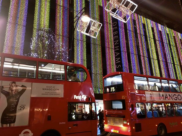 Christmas in town, London, ©evaespinet