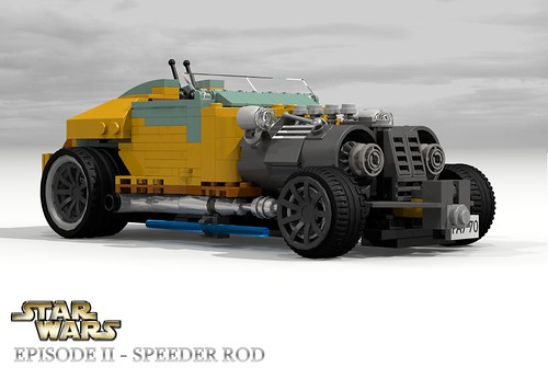 Speeder Rod - Star Wars Episode II