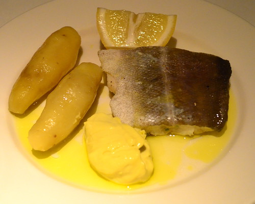 Poached Cod and Potatoes