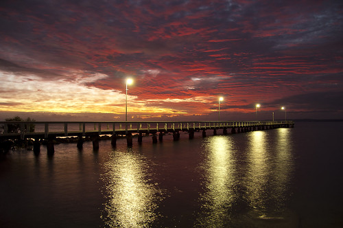 Wellington point sunrise