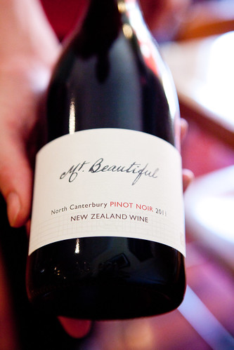 Mt. Beautiful, North Canterbury, Pinot Noir 2011