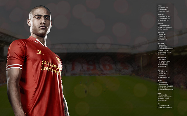 LFC Fixtures | Glen Johnson