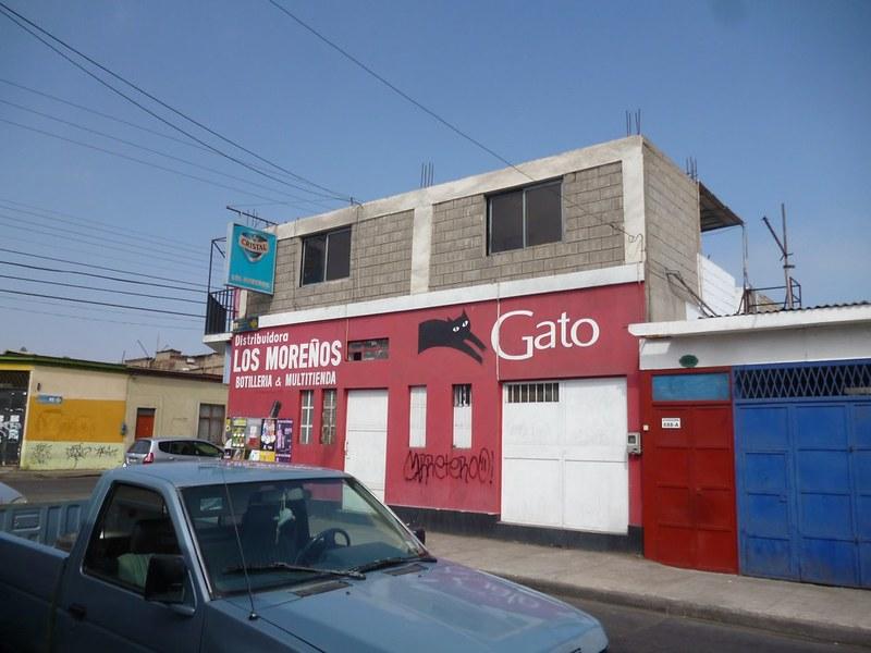 Liquor store opposite my hostel