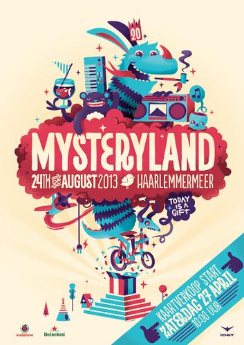 cyberfactory 2013 mysteryland outdoor festival haarlemmermeer nederland