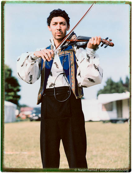 Giffords Circus musician