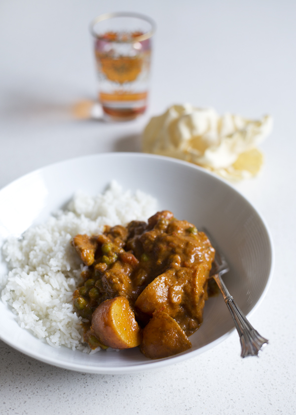 The Gluten Free Scallywag_Simple Chicken Curry
