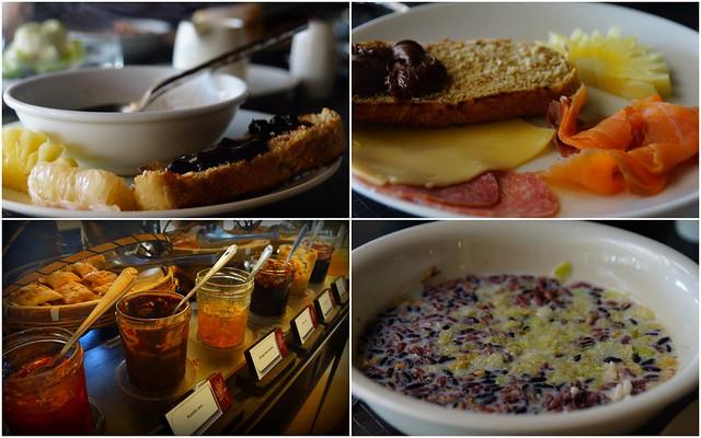 Breakfast buffet at the Impiana Resort