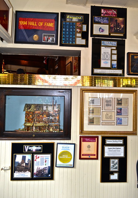 hall of fame at union oyster house
