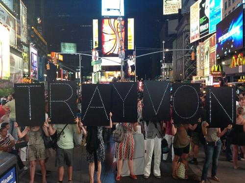NYC-trayvon
