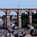Morlaix viaduct by Missusdoubleyou