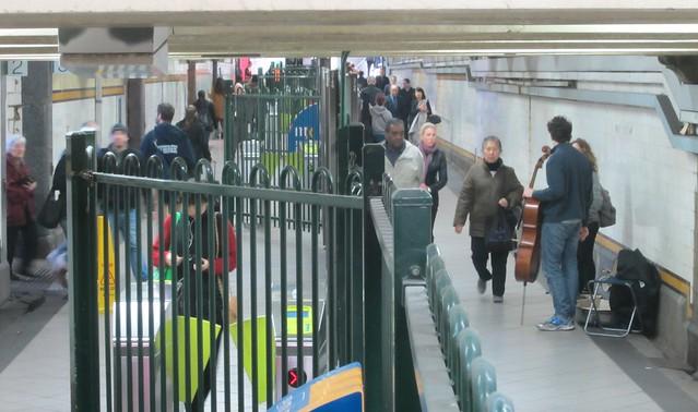 Elizabeth Street subway, Flinders Street Station
