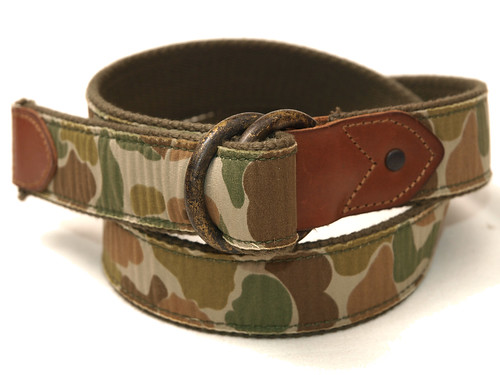 RRL / Camo Webbed Belt