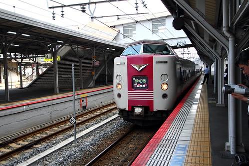JR岡山站等特急列車