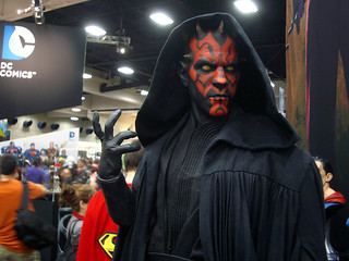 Giant Darth Maul statue 1