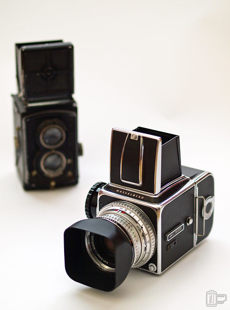 Hasselblad & Rolleiflex – Competition between Gentlemen