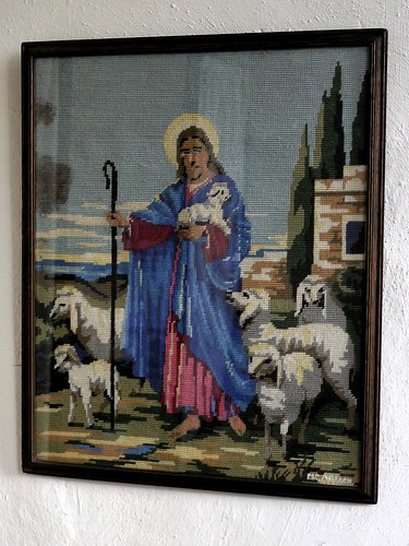Cross-stitch Nativity