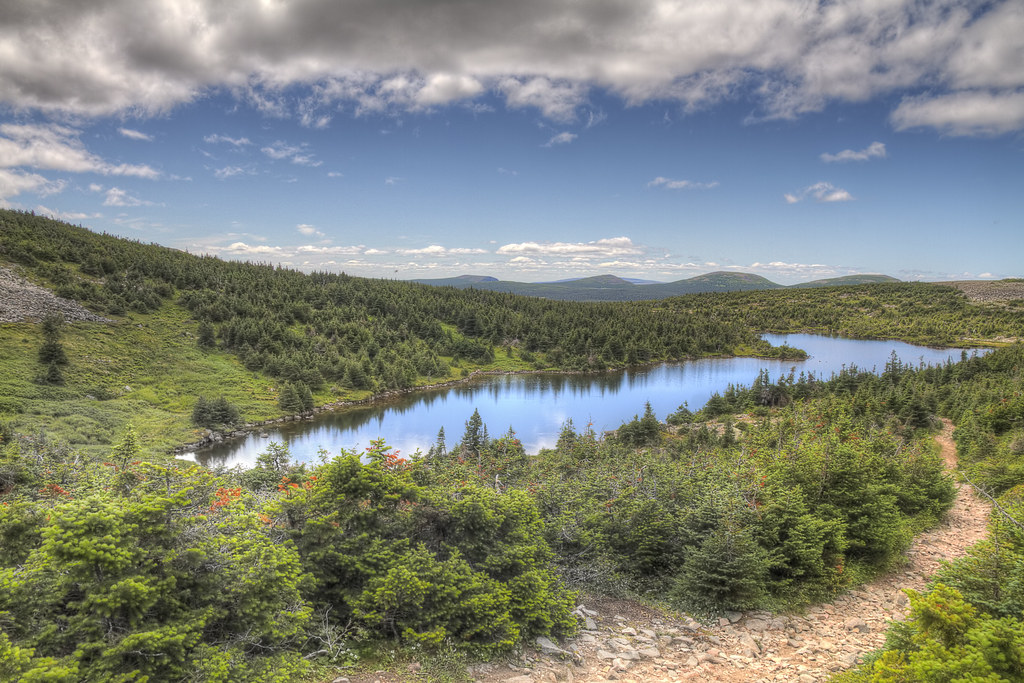 Quebec Mountain Lake HDR