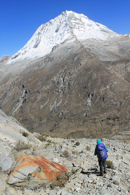 Descending from Paso Huapi