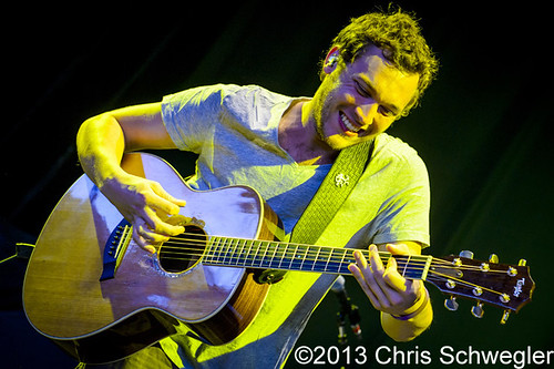 Phillip Phillips - 08-07-13 - Born & Raised Tour 2013, DTE Energy Music Theatre, Clarkston, MI