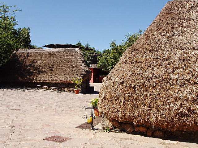 Thatched houses, Pinolere, Tenerife
