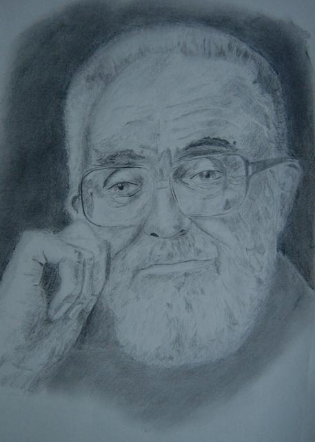 Jose Luís Sampedro. Autor, Javier Luengo
