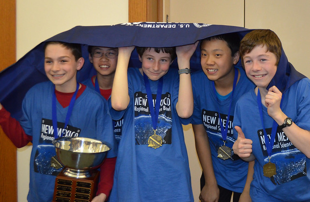 2013 Science Bowl Winners