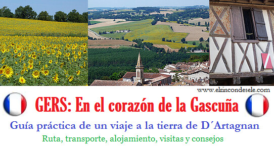 Banner guía del viaje al Gers (Gascuña, Francia)