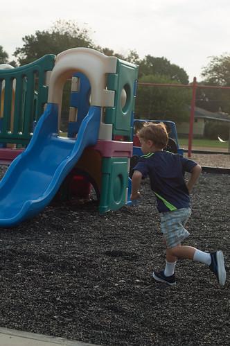 Oliver goes to Kindergarten